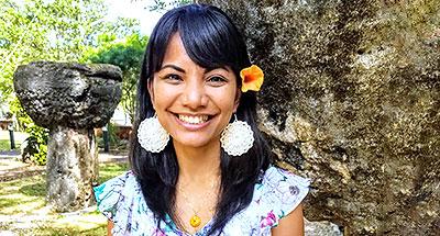 Kisha Borja Quichocho Calvo, Graduate Student, Department of Political Science, UH Mānoa