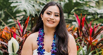 Ha'ani San Nicolas, Graduate Student, Department of Political Science, UH Mānoa