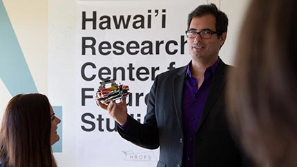 Jarius Grove, Director of the Hawai'i Research Center for Future Studies